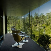 Locations: The Tok Chair in Juvet Hotel, Norway