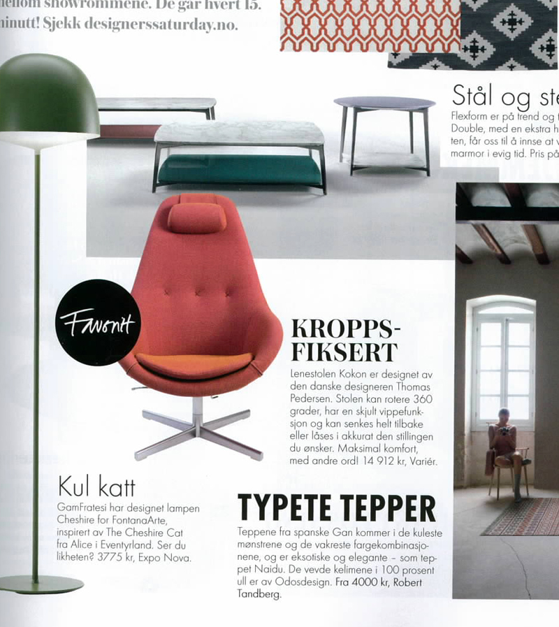 Press The Kokon In Bo Bedre Norway Varier Blog